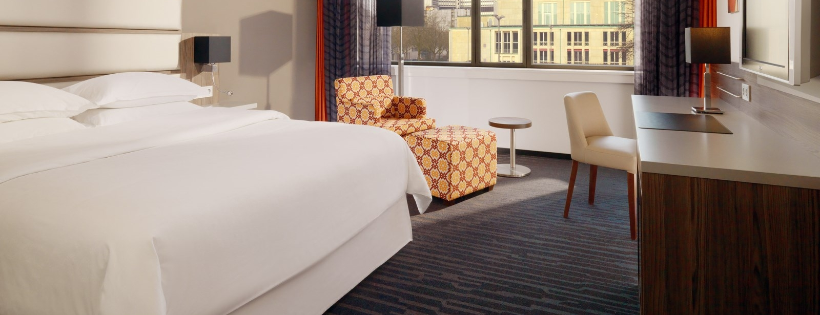 Club Floor Park View kamers | Sheraton Essen Hotel